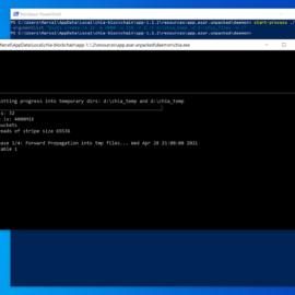 [QuickTip] Chia Plotting mit Windows PowerShell